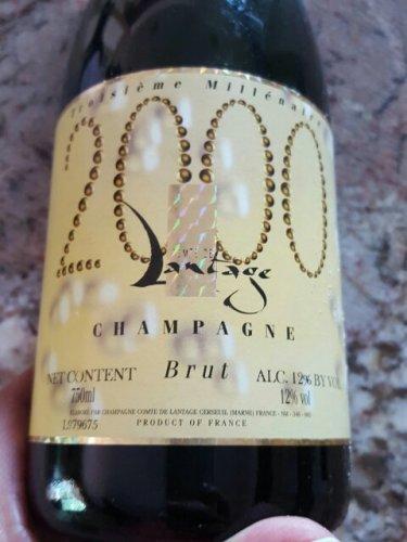 Comte de Lantage Champagne Blanc de Blancs 1er Cru