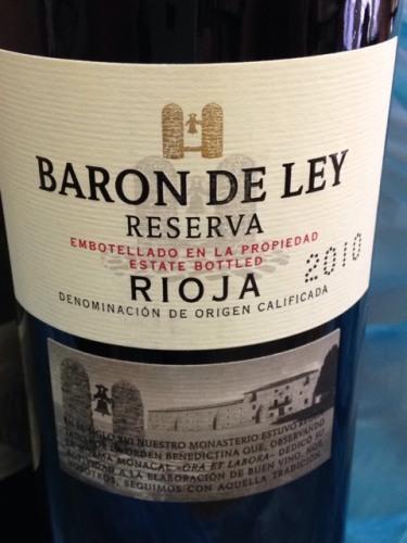 baron de ley rioja gran reserva 1994 wine info. Black Bedroom Furniture Sets. Home Design Ideas