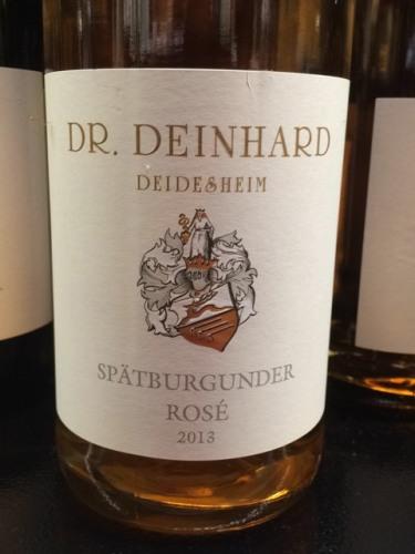 Dr deinhard deidesheim trocken rose secco wine info for Deinhard wine