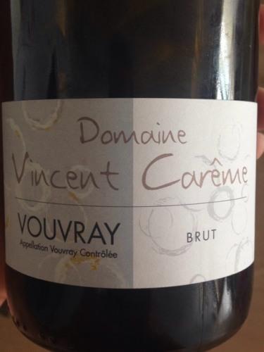 Vincent Careme Vouvray Brut 2009