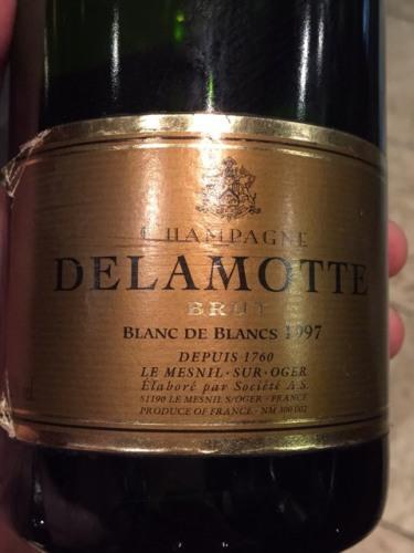 Delamotte champagne blanc de blancs brut 1997 wine info for 1997 champagne salon
