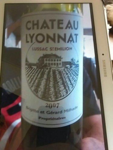 Ch teau lyonnat lussac st milion 2013 wine info for Chateau lyonnat