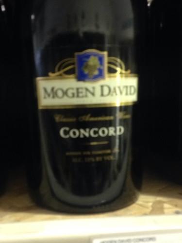 Mogen David Classic American Concord Wine Info