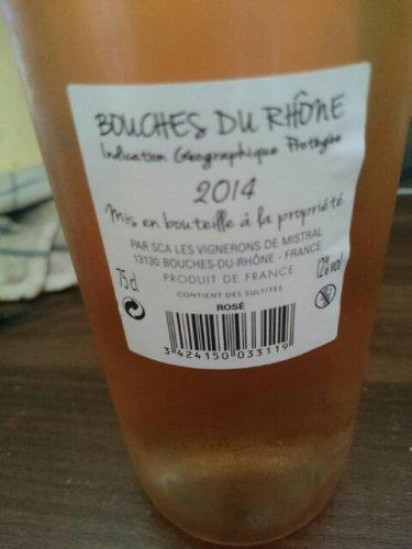 Mistral bouches du rh ne wine info for Info regionale bouche du rhone