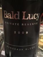 Bald Lucy Bordeaux Blend Private Reserve