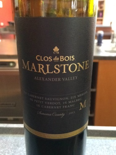 Clos du bois marlstone red blend 2012 wine info for Clos du bois