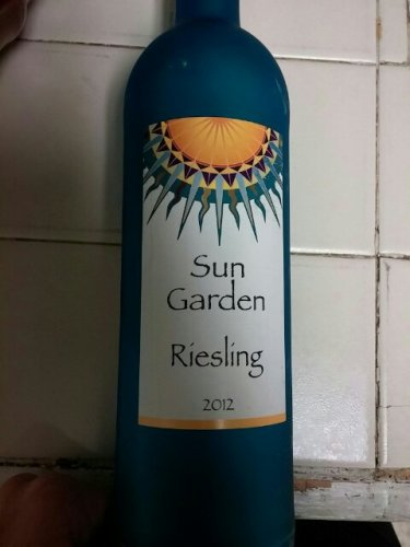 Sun garden riesling 2012 wine info Sun garden riesling