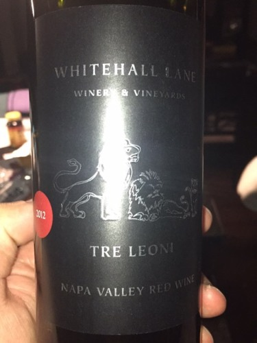 Whitehall Lane Tre Leoni Red Blend 2012