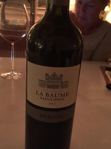 Domaine de la baume merlot r serve saint paul 2013 wine info - Domaine de la baume ...