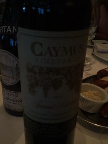 Caymus Vineyards Cabernet Sauvignon Special Selection 2013
