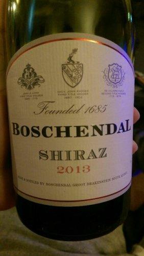 Boschendal shiraz mourvedre viognier smv 2013 wine info for Boschendal wine
