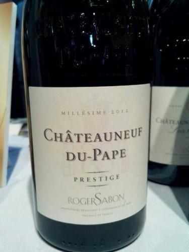 Roger sabon ch 226 teauneuf du pape cuv 233 e prestige 2012