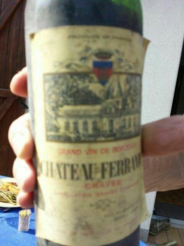 Ch teau ferrande graves 1987 wine info for Chateau ferrande
