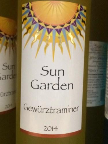 Sun garden gewruztraminer 2014 wine info Sun garden riesling