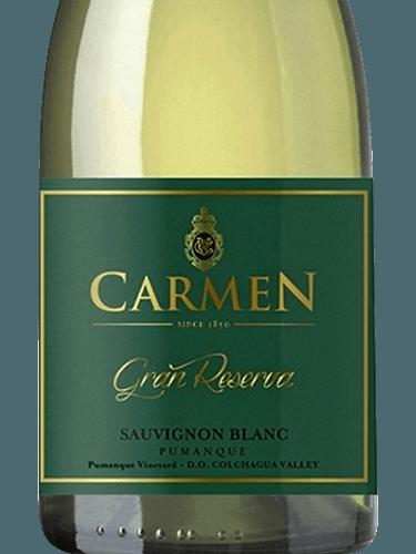 Kết quả hình ảnh cho carmen gran reserva sauvignon blanc