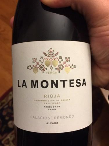 Palacios Remondo Rioja Herencia La Montesa 1987