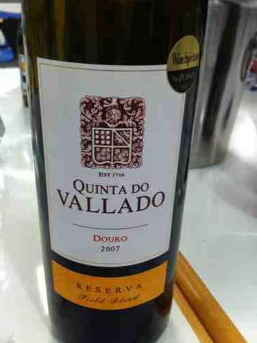 Quinta do vallado douro reserva tinto 2007 wine info - Quinta do vallado ...