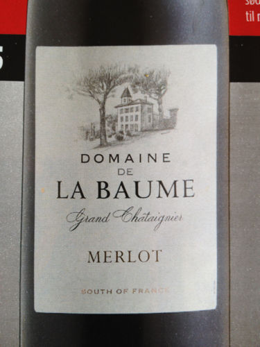 domaine de la baume merlot grand ch taignier 2010 wine info. Black Bedroom Furniture Sets. Home Design Ideas