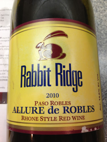 Rabbit Ridge Allure de Robles