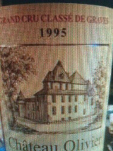 Ch teau olivier pessac l ognan grand cru class 1995 for Chateau olivier