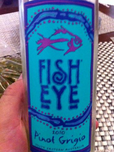 Fisheye pinot grigio 2010 wine info for Fish eye wine