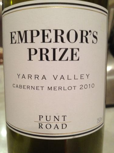 punt road emperor 39 s prize yarra valley cabernet merlot. Black Bedroom Furniture Sets. Home Design Ideas