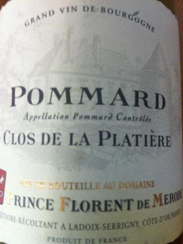 Prince Florent de Merode Pommard