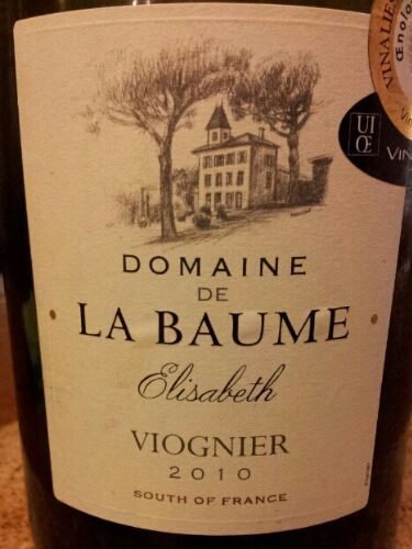 domaine de la baume viognier elisabeth nv wine info. Black Bedroom Furniture Sets. Home Design Ideas