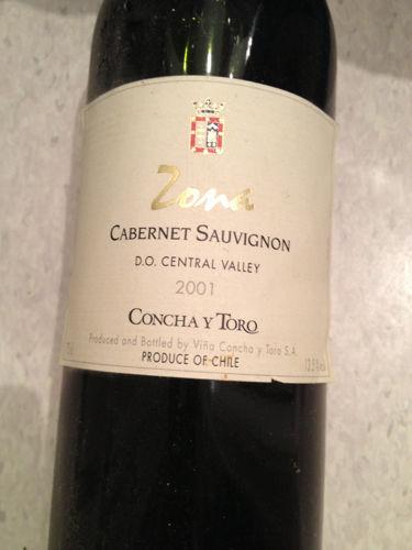 Concha Y Toro Zona Cabernet Sauvignon 1997