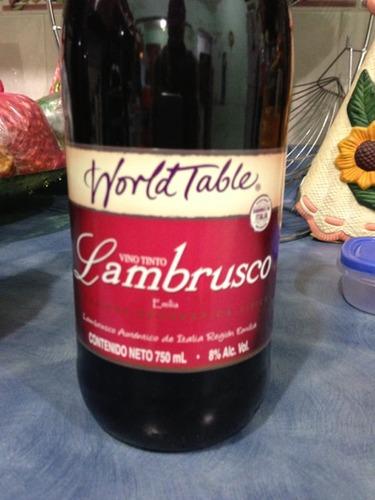 World Table Lambrusco Tinto 2008 Wine Info