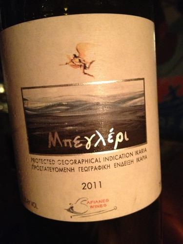 Afianes Wines Μπεγλέρι 2011  Wine Info