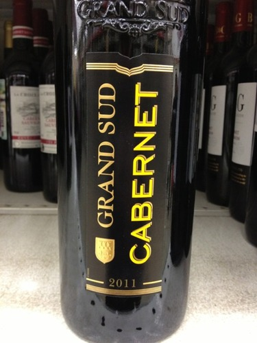 Grand sud cabernet 2011 wine info for Carrelage grand sud