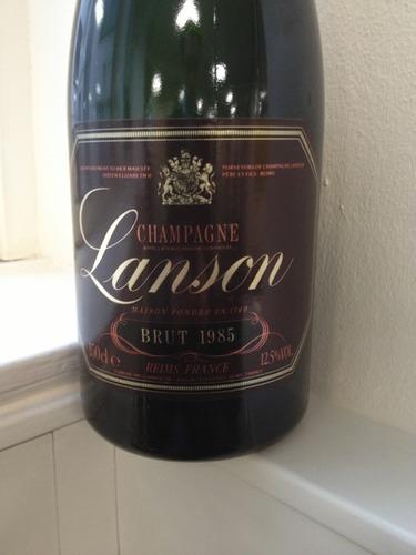 Lanson champagne brut black label 1985 wine info for 1985 salon champagne