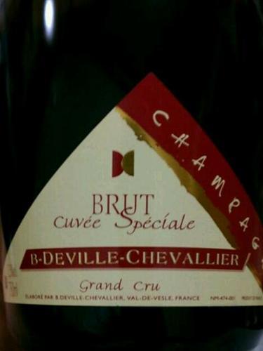 champagne b-deville- chevallier