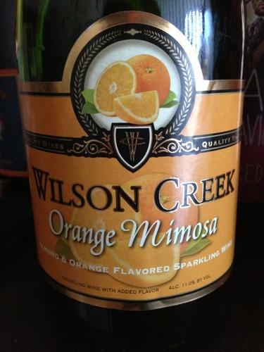 Wilson Creek Orange Mimosa Wine Info