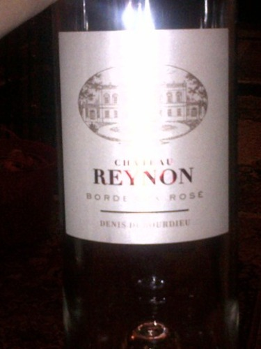 Ch teau reynon bordeaux ros 2008 wine info for Chateau reynon