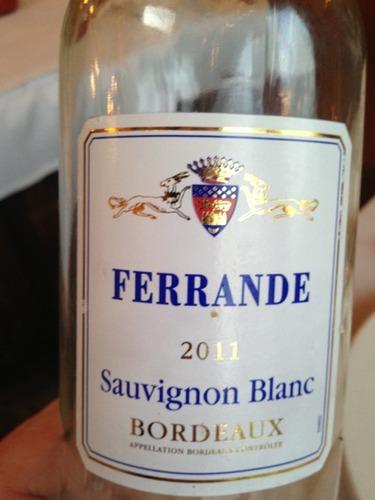 Ch teau ferrande bordeaux sauvignon blanc for Chateau ferrande