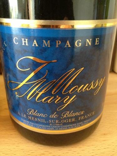 J moussy mary champagne le mesnil sur oger blanc de blancs brut wine info for Salon blanc de blancs le mesnil sur oger