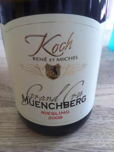 ren koch fils le grand cru muenchberg 2010 wine info. Black Bedroom Furniture Sets. Home Design Ideas