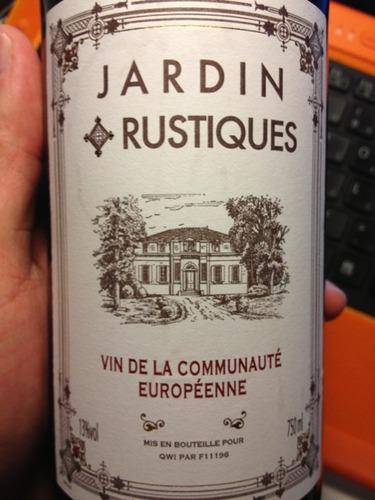 Jardin rustiques nv wine info for Jardin winery