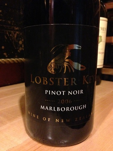 lobster key marlborough pinot noir 2006 wine info. Black Bedroom Furniture Sets. Home Design Ideas