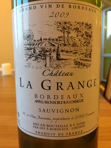 ch teau la grange bordeaux sauvignon 2011 wine info. Black Bedroom Furniture Sets. Home Design Ideas