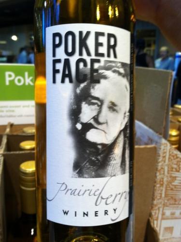 poker face wine