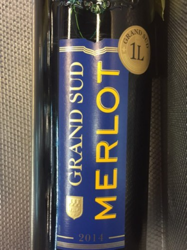 Grand sud merlot 2014 wine info for Carrelage grand sud