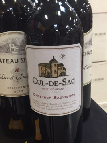 Cul De Sac California Cabernet Sauvignon 2013 Wine Info