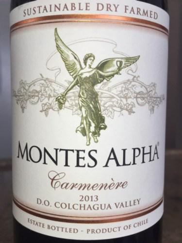 Kết quả hình ảnh cho montes alpha carmenere