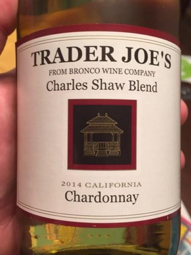 trader joe u0026 39 s charles shaw blend chardonnay 2014