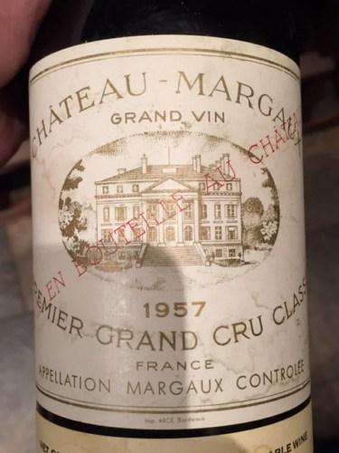 Ch teau margaux margaux premier grand cru class 1957 for Chateau margaux