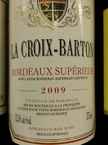la croix de gaillan bordeaux blanc 2009 wine info. Black Bedroom Furniture Sets. Home Design Ideas