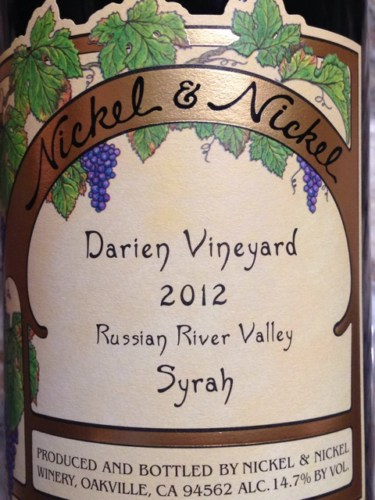 nickel nickel darien vineyard syrah 2005 wine info. Black Bedroom Furniture Sets. Home Design Ideas